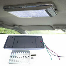 White 36 LED Car Vehicle Dome Roof Ceiling Interior Light Lamp DC 12V Silver New