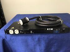 Eaton PDU T982C2-N-SL-109  PW103MI1U161 120V 24A 10/3 9' cable L5-30P w 12 5-20R