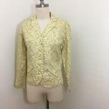 Vintage 60s Calico Floral Blazer Size Small/Medium