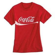 COCA COLA COKE DYNAMIC RIBBON T SHIRT  L  NEW!!