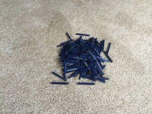 154x Knex dark blue  rods