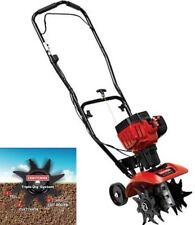 Craftsman Mini Tiller Cultivator 25cc 2-Cycle Gas Engine 3-in-1 Till Tines