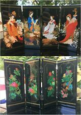 Small Traditional Chinese Screens home decor tabletop decoration