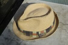 Adidas Straw Trilby Hat - Large