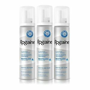 Men's Rogaine 5% Minoxidil Foam for Hair Loss and Hair Regrowth, Topical Treatme
