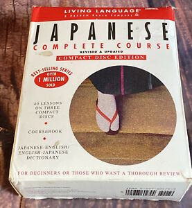 Japanese Complete Course ~ Basic Intermediate ~ 3 CD's & Books