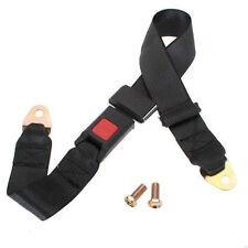 1 Set Car Universal Adjustable 2 Point Retractable Safety Seat Belt Lap Belt us