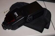 Sigma EF-500 DG ST Shoe Mount Flash Analogue for Nikon 6003 with case