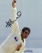 Saeed Ajmal Signed Pakistan Cricket Photo AFTAL RD175 COA