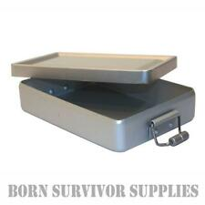 BCB MINI MESS BOX Lightweight Aluminium Metal Survival Kit Tin Bushcraft Storage