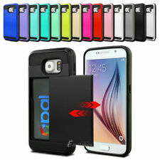 Unbranded/Generic Silicone/Gel/Rubber Metallic Mobile Phone Cases, Covers & Skins with Card Pocket