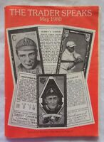 May 1980 The Trader Speaks Baseball Cards Sports Memorabilia Magazine