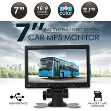 Car Rear View Monitor  7 inch TFT LCD For Backup Camera Reverse Parking System
