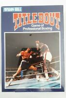 TITLE BOUT - Avalon Hill Board Game (sealed, shrinkwrapped, mint condition 1979)