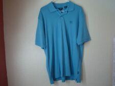 NWT'S Men's Izod Blue 100% Cotton Polo Shirt-L