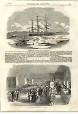 1855 Baltic Fleet Hms Archer In The Ice Hospital Kitchen Scutari Barracks