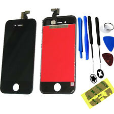 Iphone 4 4G LCD Display + Touch Screen Digitizer Glass & Tools Sticker Black UK