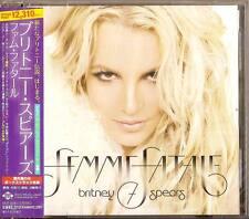 BRITNEY SPEARS-FEMME FATALE-JAPAN CD BONUS TRACK E78