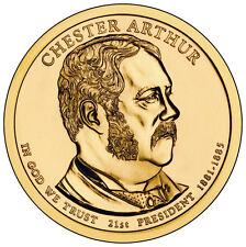 2012 CHESTER ARTHUR DOLLAR P&D SET  ***IN STOCK***