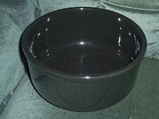 Waechtersbach Spain Solid Colors Black Serving Bowl Round 9 Inch EC