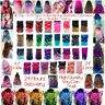 """24"""" Dip Dye Clip - In Ombre Synthetic Hair Extensions Curly / Straight / Wavy"""