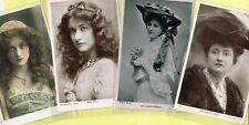 ☆ EDWARDIAN THEATRE / MUSIC HALL ACTRESS / DANCER ☆ 1900s Postcards LIST 17