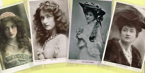 ☆ EDWARDIAN THEATRE / MUSIC HALL ACTRESS / DANCER ☆ 1900s Postcards LIST 17
