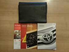 Toyota Avensis Owners Handbook/Manual and Wallet 15-18