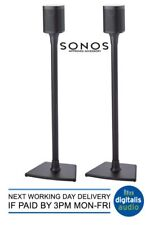 SANUS WSS1 SONOS APPROVED Black Speaker Stands FOR PLAY:1 & PLAY:3