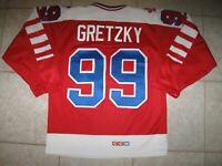 VINTAGE #99 Wayne GRETZKY Team CANADA Off. Lic. CCM MASKA Jersey, Size Men's S