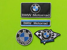BMW MOTORRAD  KIT 4 PATCH TOPPE RICAMATE TERMOADESIVE