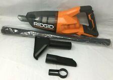 Ridgid R860902B 18 VCordless Hand Vacuum w/Crevice Nozzle, Utility Nozzle, ZX514