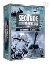 Coffret 10 DVD Seconde  Guerre Mondiale Les Grandes Batailles NEUF