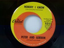 "PETER & GORDON ""NOBODY I KNOW / YOU DON'T HAVE TO TELL ME"" 45"