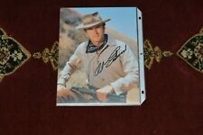 CLINT EASTWOOD AUTOGRAPHED COLOR PHOTO NICE COMES WITH COA