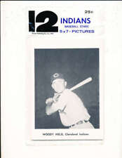 1961 Woody Held Cleveland Indians unopen Jay picture Pack mint