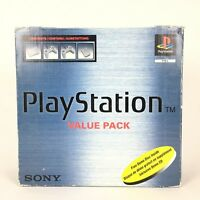 Console Sony PS1 Playstation 1 Value Pack + 2 Manette + Boite + Notice SCPH-5552
