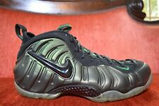 CLEAN Nike Air Foamposite Pro Pine Green Black Gym Green 624041-301 Size 11.5