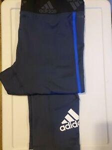 NWT Adidas Primeblue 34 Men's Running Tights 3/4 Length Size 2XL