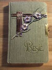 Poesiealbum 1916-17 Dresden 46 Einträge Striesen Strehlen Sütterlin Adel 1. WK
