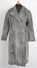 US449 Genuine Persian lamb coat gray fur jacket Persianer Pelzmantel  ca. M