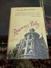 1967 ROSEMARY'S BABY by Ira Levin First Edition Horror Novel VG HC DJ BCE