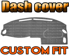 Fits 1996-1998  NISSAN  QUEST VAN  DASH COVER MAT DASHBOARD PAD / CHARCOAL GREY