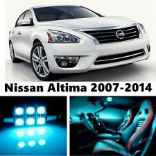 14pcs LED ICE Blue Light Interior Package Kit for Nissan Altima 2007-2014