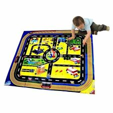 GIANT CITY PLAYMAT ROAD TRAIN LAYOUT CAR MAT BOYS TOY CHRISTMAS STOCKING FILLER