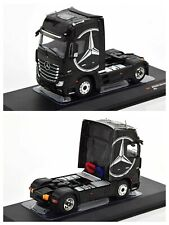 1/43 Ixo Camion Mercedes-Benz Actros MP4 Noir Neuf Boîte Livraison Domicile