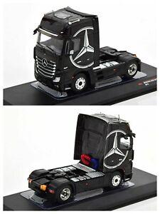 1/43 IXO Truck Mercedes-Benz Actros MP4 Black New Box Free Shipping Home