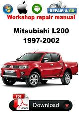 Mitsubishi L200 1997-2002  Factory Workshop Repair Manual