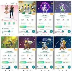 Pokémon Account Go level 40 | 131 Shiny(Rare)| 529 Legendary| 382,4*Pokemon