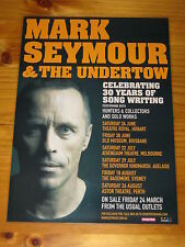 MARK SEYMOUR - HUNTERS AND COLLECTORS 2017 Australian Tour - Laminated Poster